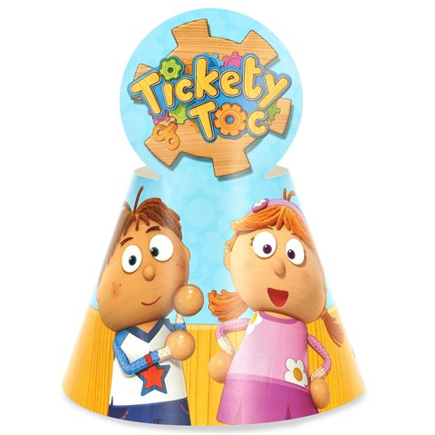 Tickety Toc Cone Hats (8)