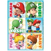 Super Mario Bros. Babies Sticker Sheets (4)