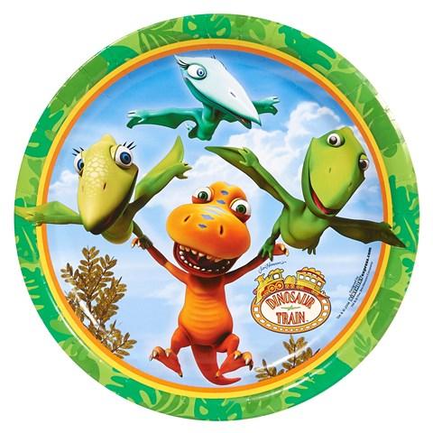 Dinosaur Train Dinner Plates (8)
