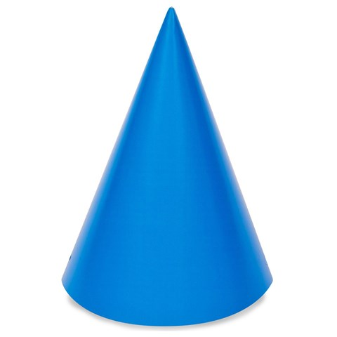 Blue Cone Party Hats