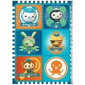 The Octonauts Sticker Sheets