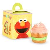 Sesame Street Elmo's 1st - Cupcake Boxes (4)