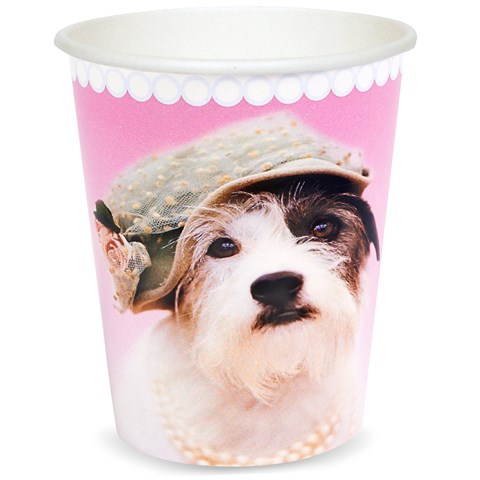 rachaelhale Glamour Dogs 9 oz. Paper Cups (8)