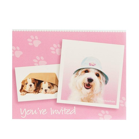 rachaelhale Glamour Dogs Invitations (8)