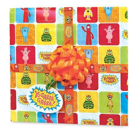 Yo Gabba Gabba! Gift Wrap Kit