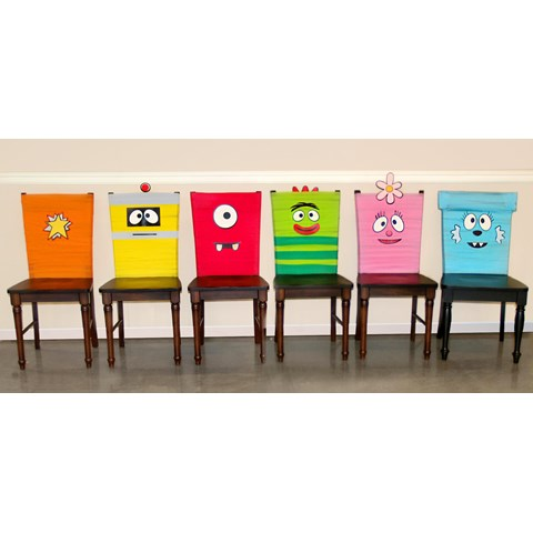 Yo Gabba Gabba! Party - Chair Decorating Kit