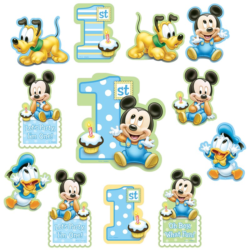 Mickey Mouse 1st Birthday Png Disney Mickey 1st Birthday