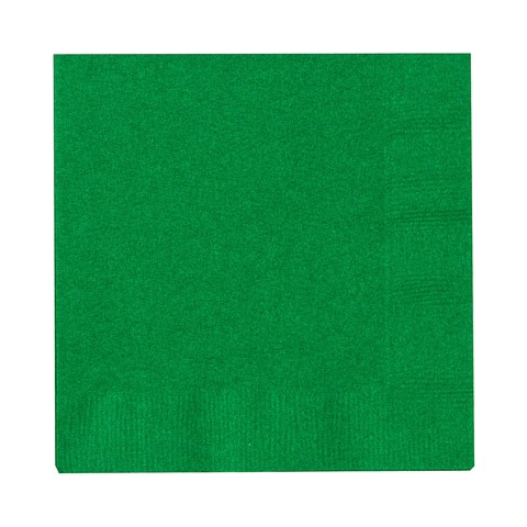 Emerald Green (Green) Beverage Napkins