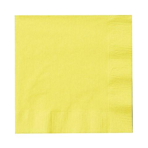 Mimosa (Light Yellow) Beverage Napkins