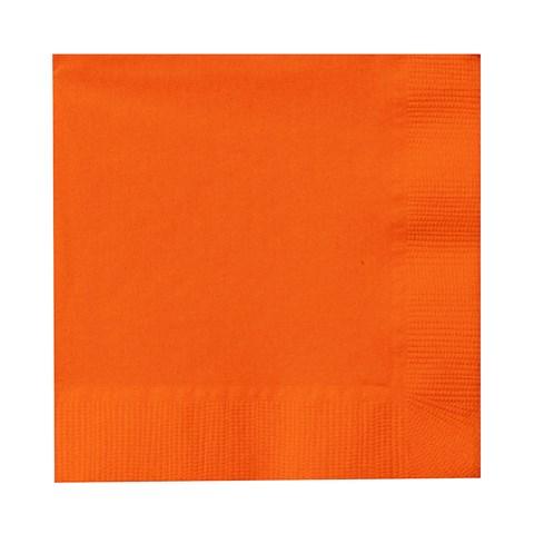 Sunkissed Orange (Orange) Beverage Napkins