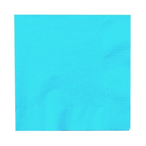 Bermuda Blue (Turquoise) Beverage Napkins