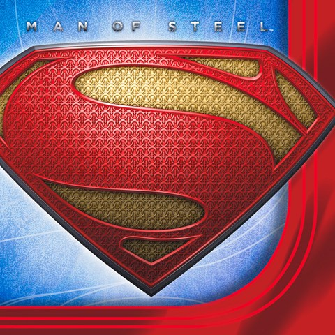 Superman: Man of Steel Beverage Napkins