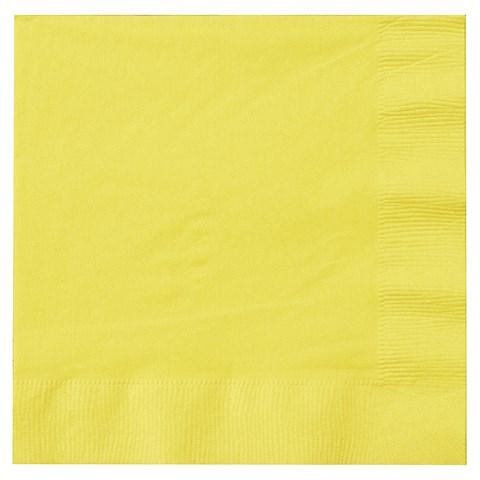 Mimosa (Light Yellow) Lunch Napkins