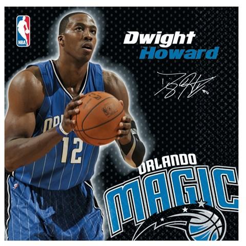 Orlando Magic Dwight Howard Basketball - Lunch Napkins