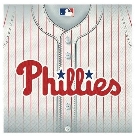 Philadelphia Phillies Baseball - Lunch Napkins