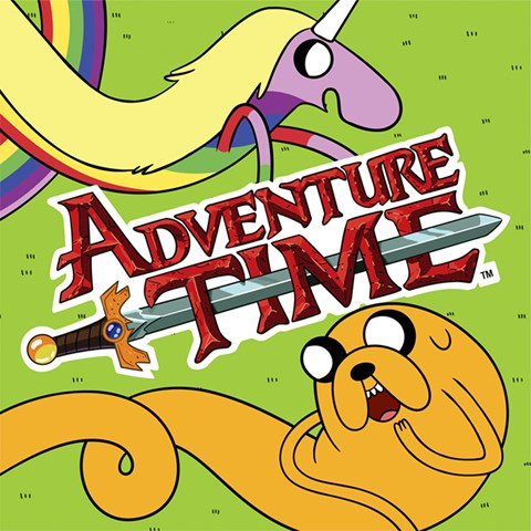 Adventure Time Lunch Napkins