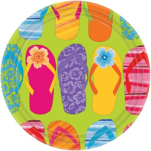 Flip Flop Dessert Plates