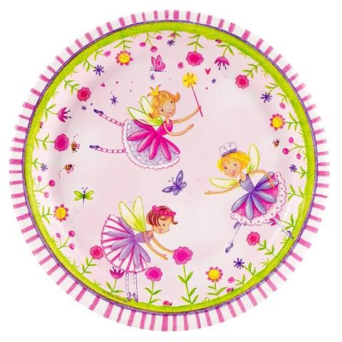 Garden Fairy Dessert Plates