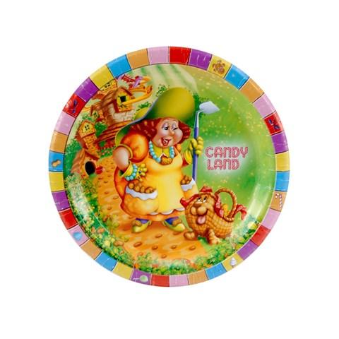 Candy Land Dessert Plates