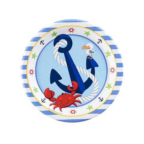 Anchors Aweigh Dessert Plates