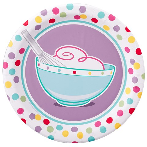 Baking Bash Dessert Plates