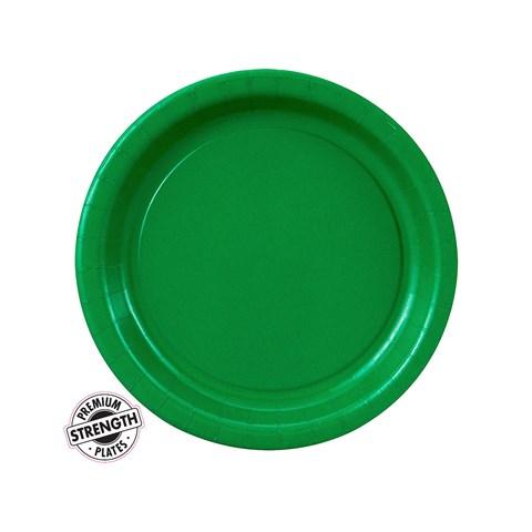Emerald Green (Green) Dessert Plates