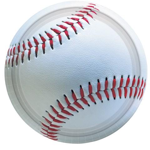 Baseball Fan Dessert Plates