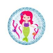 Mermaids Dessert Plates