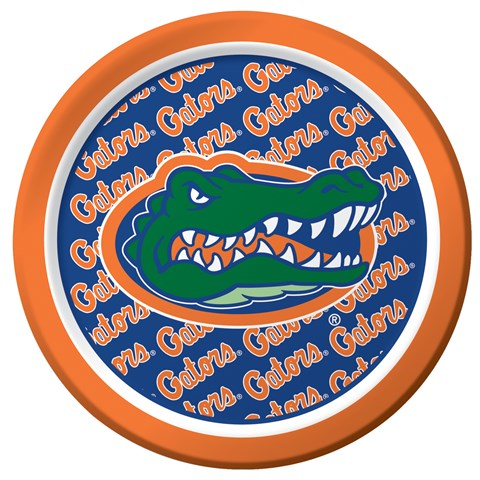 Florida Gators Dessert Plates