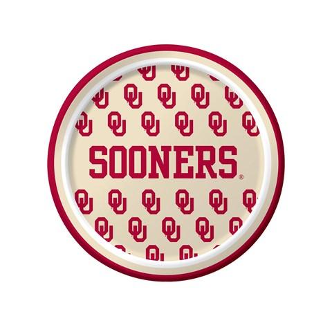Oklahoma Sooners Dessert Plates