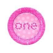 Everything One Girl Dessert Plates