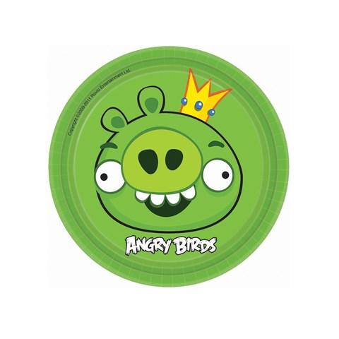 Angry Birds Dessert Plates