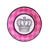 Elegant Princess Damask Dessert Plates