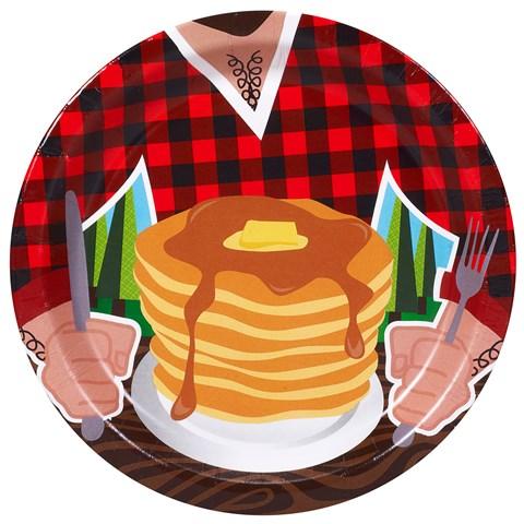 LumberJack Dessert Plates