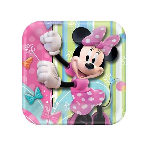Disney Minnie Dream Party Square Dessert Plates
