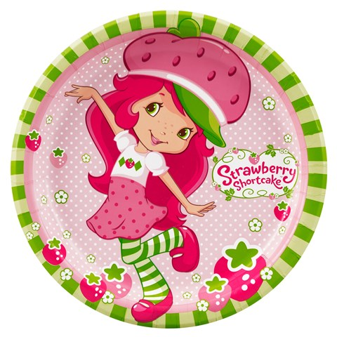 Strawberry Shortcake Dinner Plates
