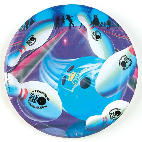 Bowling Dinner Plates