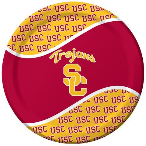 USC Trojans Dinner Plates