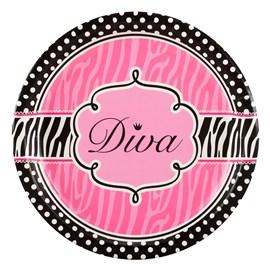 Diva Zebra Print)