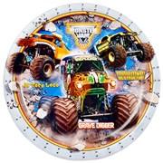 Monster Jam 3D Plate