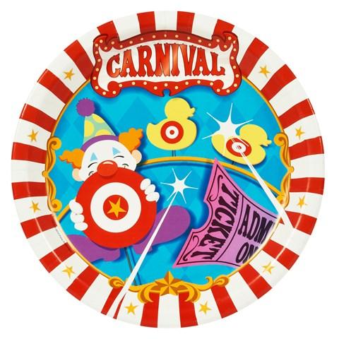 Carnival Games Dinner Plates