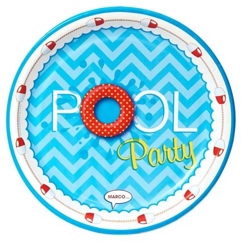 Splashin' Pool Party Dinner Plates
