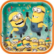 Minions Despicable Me - Dinner Plate (8)