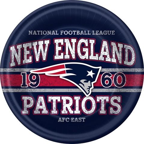 NFL New England Patriots Dinner Plates