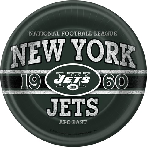 NFL New York Jets Dinner Plates