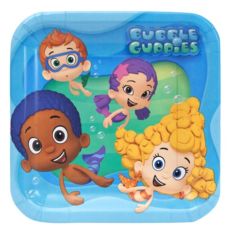 Bubble Guppies Dinner Plates