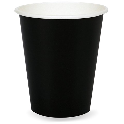 Black Velvet (Black) 9 oz. Paper Cups