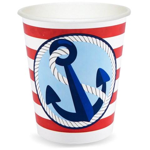 Anchors Aweigh 9 oz. Cups