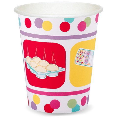Baking Bash 9 oz. Paper Cups