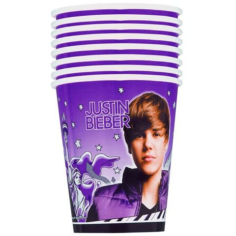 Justin Bieber 9 oz. Paper Cups